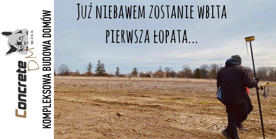 Budowa domu w Żorach – CZAS START